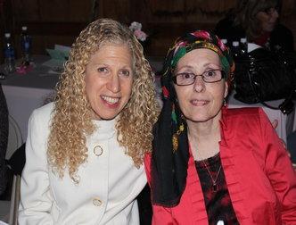 Jessica Swirsky, President & COO, Abilities, Inc. at The Viscardi Center and Patricia Birbiglia.