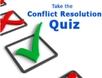 Take the conflict resolution quiz