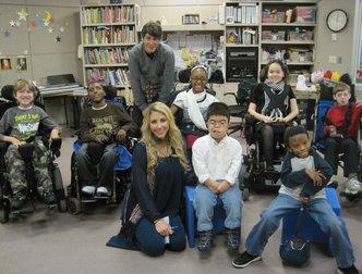 Elise Testone, 2012 American Idol Finalist, Jams with Students at the Henry Viscardi School
