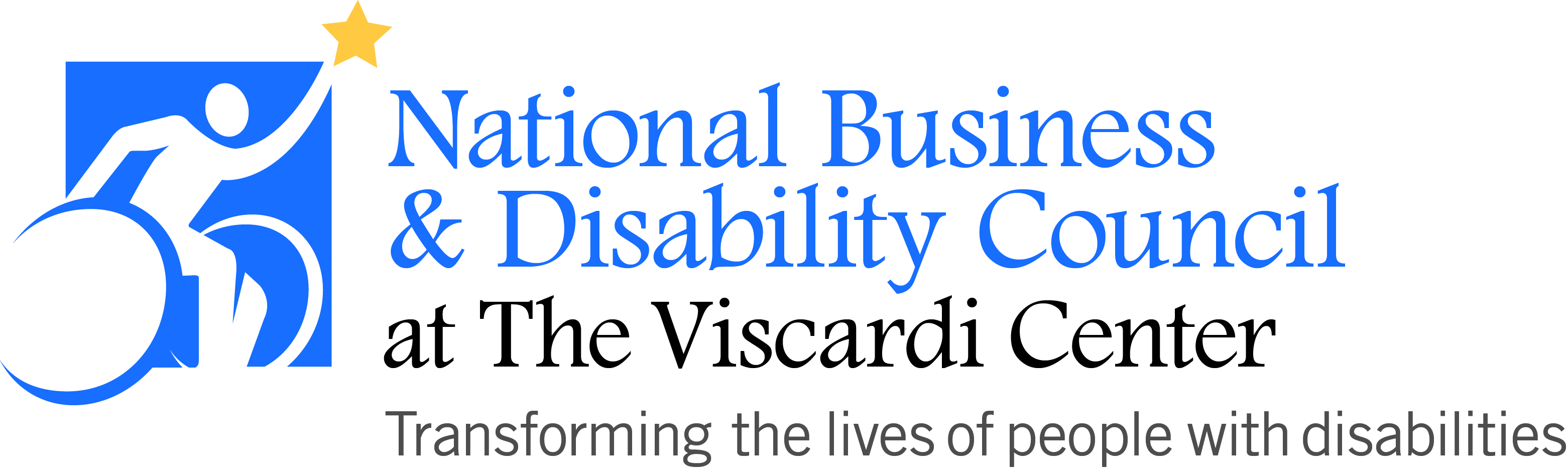 Logo: National Business & Disability Council - transforming the lives of people with disabilities