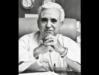 Dr. Viscardi at his desk