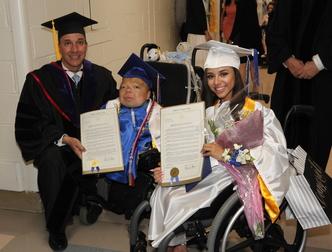 Senator Martins and 2016 HVS Graduates