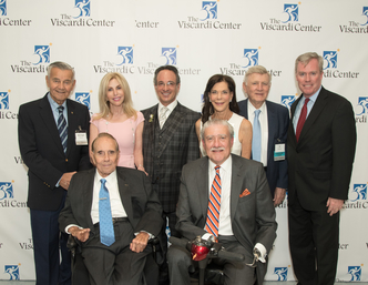 Honorees pose with John D. Kemp, President & CEO of The Viscardi Center