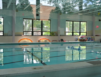 The pool at The Viscardi Center