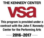 The Kennedy Center VSA. This program is provided under a contract with the John F. Kennedy Center for the Performing Arts. 2016-2017.