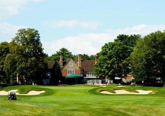 The Mill River Club's clubhouse