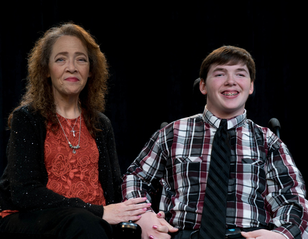 Linda and her son, Chris