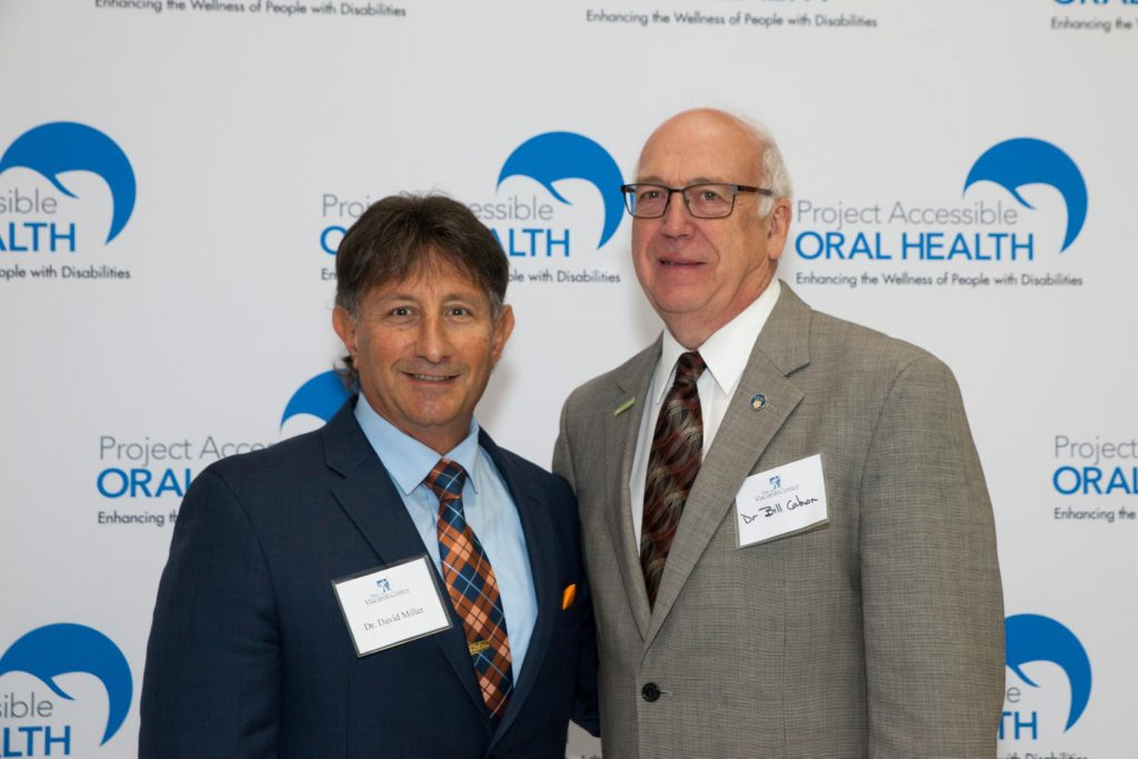 [L-R] Dr. David Miller, Chairman, Department of Dental Medicine, Interfaith Medical Center  with Dr. Bill Calnon, President, American Dental Association Foundation at Project Accessible Oral Health.