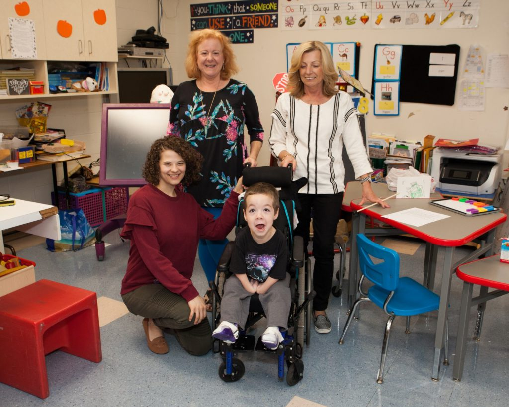 "Liam, a student at the Henry Viscardi School at The Viscardi Center, and staff welcomed Project Accessible Oral Health guests as they toured and learned why it's known for its best practices and ""the school that love built""."