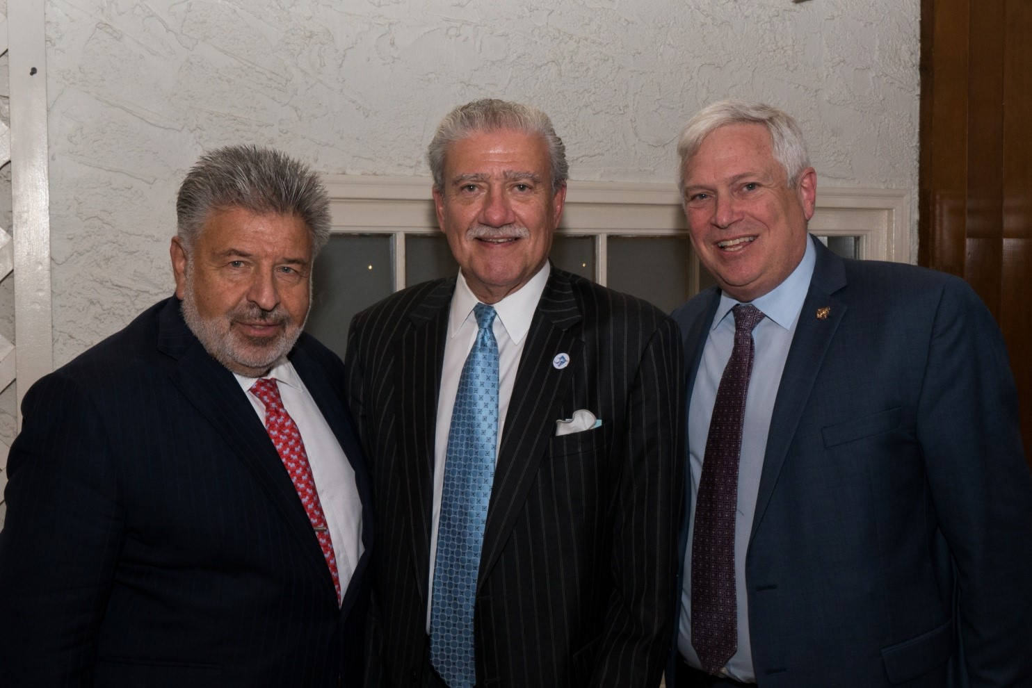 [L-R] FOUNDING PARTNERS - Steve W. Kess, Vice President Global Relations, Henry Schein, Inc and Executive Committee Project Accessible Oral Health; John D. Kemp, President & CEO, The Viscardi Center; Chairman, Project Accessible Oral Health; and Dr. Mark S. Wolff, Morton Amsterdam Dean (Effective 1 July 2018), University of Pennsylvania, School of Dental Medicine and Project Accessible Oral Health Executive Committee.