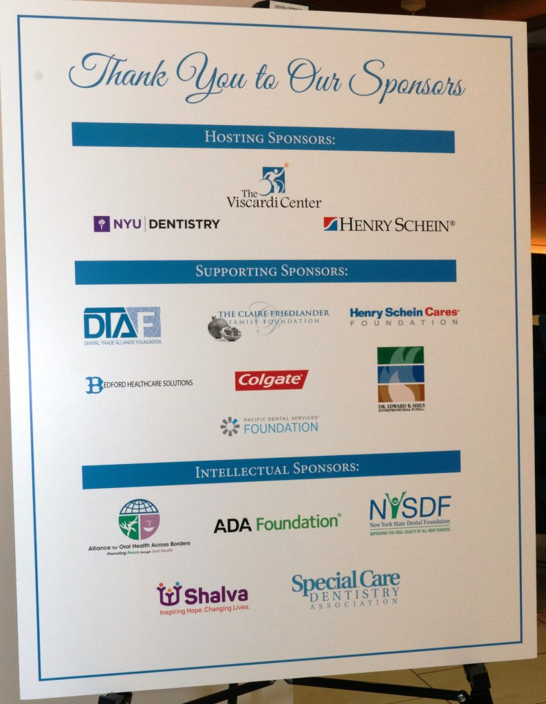 Project Accessible Oral Health is deeply grateful to its hosting, supporting and intellectual sponsors.