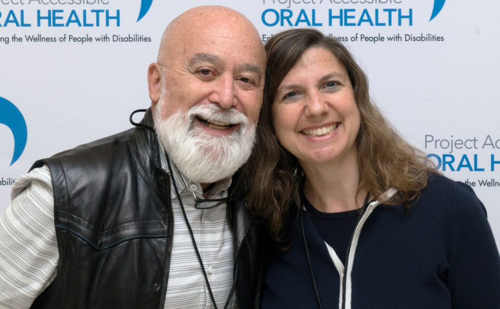 Jack Dillenberg, D.D.S., M.P.H., Dean Emeritus, Arizona School of Dentistry & Oral Health with Dr. Dena Fischer, Keynote Speaker and Director of the Clinical and Practice-Based Research Program at the National Institute of Dental and Craniofacial Research (NIDCR), Center for Clinical Research.