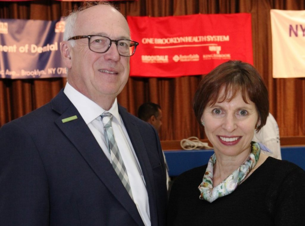 "Dr. William Calnon, President of the American Dental Association Foundation and Dr. Barbara Shearer, Director of Scientific Affairs, Colgate Oral Pharmaceuticals, offered their support at the first ever ""Take a Dental Health Day: Screening and Education for the Disability Community"" a Project Accessible Oral Health initiative. Event sponsors of the event included Colgate, Henry Schein Cares, Henry Schein Cares Foundation, the Claire Friedlander Family Foundation, America's Tooth Fairy - the National Children's Oral Health Foundation and DMG America."