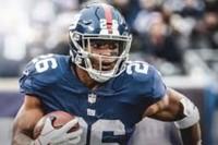 NY Giants Running Back, Saquon Barkley