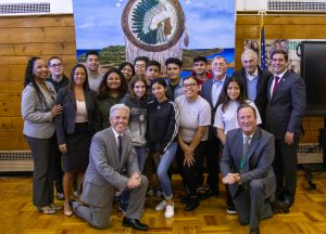 Broadridge Foundation funds pilot class for at-risk high school students in Brentwood.