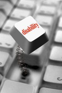 Disability key on keyboard