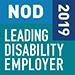 2019 NOD Leading Disability Employer