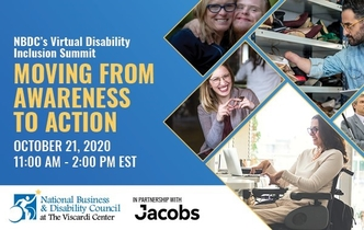 NBDC's Virtual Disability Inclusion Summit Moving from Awareness to Action