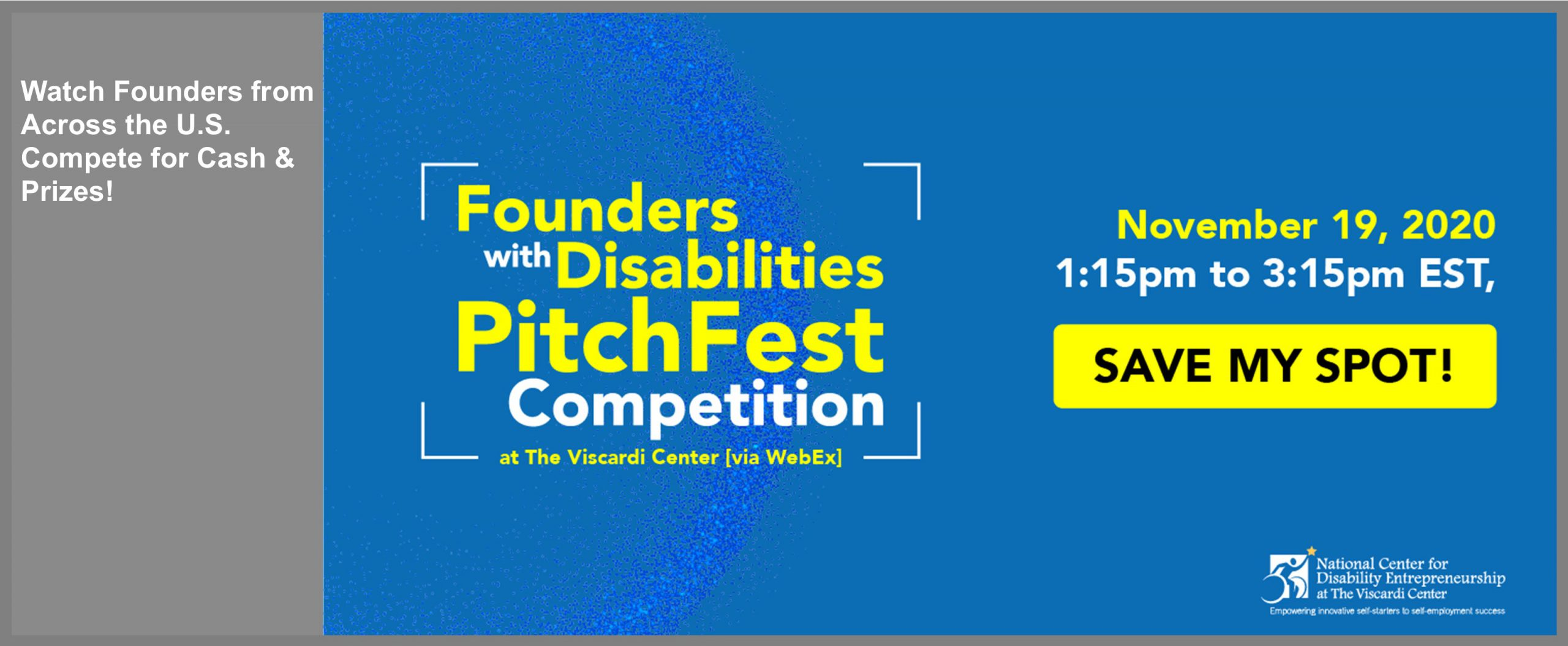 First-Ever Virtual Founders with Disabilities PitchFest Competition at The Viscardi Center