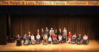 The Ralph & Lucy Palleschi Family Foundation Stage