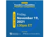 Second Annual Founders with Disabilities PitchFest Competition presented by National Center for Disability Entrepreneurship at The Viscardi Center and JPMorgan Chase & Co. on Friday, November 19 at 1:30 pm ET.